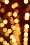 Ζωηρόχρωμες αφηρημένες χρυσές διακοπές Στοκ φωτογραφία με δικαίωμα ελεύθερης χρήσης
