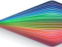 ζωηρόχρωμες γραμμές Στοκ φωτογραφία με δικαίωμα ελεύθερης χρήσης
