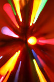 ζωηρόχρωμες ελαφριές ρα&beta Στοκ εικόνες με δικαίωμα ελεύθερης χρήσης