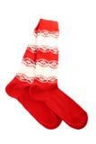 ζωηρόχρωμες κάλτσες ζευγαριού στοκ εικόνες