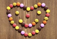 Ζωηρόχρωμες καραμέλες για τα bacgrounds Στοκ φωτογραφία με δικαίωμα ελεύθερης χρήσης