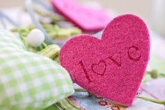 ζωηρόχρωμες καρδιές δια&kapp Στοκ εικόνα με δικαίωμα ελεύθερης χρήσης