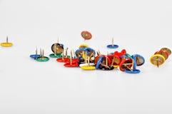 ζωηρόχρωμες καρφίτσες Στοκ εικόνα με δικαίωμα ελεύθερης χρήσης
