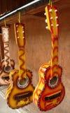 ζωηρόχρωμες κιθάρες Στοκ εικόνες με δικαίωμα ελεύθερης χρήσης