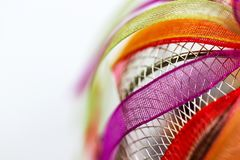 ζωηρόχρωμες κορδέλλες Στοκ φωτογραφία με δικαίωμα ελεύθερης χρήσης