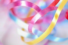 Ζωηρόχρωμες κορδέλλες Στοκ εικόνες με δικαίωμα ελεύθερης χρήσης