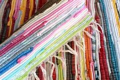 ζωηρόχρωμες κουβέρτες Στοκ εικόνα με δικαίωμα ελεύθερης χρήσης