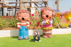 ζωηρόχρωμες κούκλες Στοκ φωτογραφία με δικαίωμα ελεύθερης χρήσης