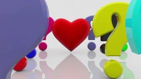 Ζωηρόχρωμες μικτές διαφορετικές σύμβολα και επιστολές με το ΦΥΛΟ λέξης διανυσματική απεικόνιση