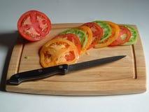 ζωηρόχρωμες ντομάτες Στοκ φωτογραφίες με δικαίωμα ελεύθερης χρήσης