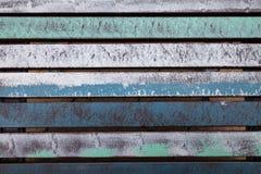 Ζωηρόχρωμες ξύλινες slats επιτροπές Στοκ φωτογραφίες με δικαίωμα ελεύθερης χρήσης