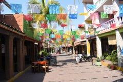 Ζωηρόχρωμες οδοί Mexcio Στοκ Εικόνες