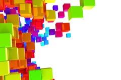 Ζωηρόχρωμες ομάδες δεδομένων Στοκ εικόνες με δικαίωμα ελεύθερης χρήσης