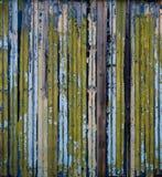 Ζωηρόχρωμες οριζόντιες γραμμές, φράκτης Στοκ Εικόνα