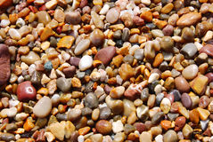 ζωηρόχρωμες πέτρες ανασκό& Στοκ Εικόνα