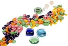ζωηρόχρωμες πέτρες Στοκ εικόνα με δικαίωμα ελεύθερης χρήσης