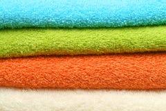 ζωηρόχρωμες πετσέτες ανα Στοκ Εικόνα