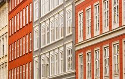 ζωηρόχρωμες προσόψεις Στοκ Φωτογραφίες