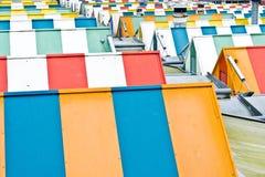 ζωηρόχρωμες στέγες Στοκ εικόνες με δικαίωμα ελεύθερης χρήσης