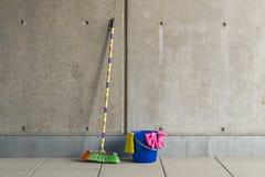 Ζωηρόχρωμες χρησιμότητες 9 καθαρισμού Στοκ Φωτογραφία