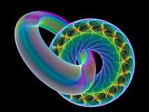Ζωηρόχρωμες fractals εικόνες Στοκ Φωτογραφία