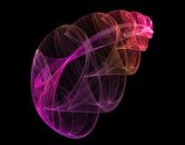 Ζωηρόχρωμες fractals εικόνες Στοκ Εικόνες