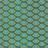 Ζωηρόχρωμη άνευ ραφής σύσταση κεραμιδιών ασβεστοκονιάματος κλίμακας ψαριών Στοκ φωτογραφίες με δικαίωμα ελεύθερης χρήσης