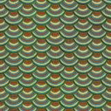Ζωηρόχρωμη άνευ ραφής σύσταση κεραμιδιών ασβεστοκονιάματος κλίμακας ψαριών Στοκ Φωτογραφίες