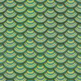 Ζωηρόχρωμη άνευ ραφής σύσταση κεραμιδιών ασβεστοκονιάματος κλίμακας ψαριών Στοκ εικόνα με δικαίωμα ελεύθερης χρήσης