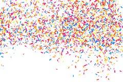 Ζωηρόχρωμη έκρηξη του κομφετί Χρωματισμένο κοκκώδες διάνυσμα σύστασης Στοκ φωτογραφία με δικαίωμα ελεύθερης χρήσης