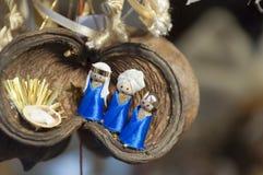 Ζωηρόχρωμη αγορά Χριστουγέννων στη Βουδαπέστη Στοκ Εικόνα