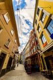 Ζωηρόχρωμη αλέα στο Γκραζ Στοκ φωτογραφία με δικαίωμα ελεύθερης χρήσης