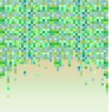 Ζωηρόχρωμη ανασκόπηση εικονοκυττάρου διανυσματική απεικόνιση