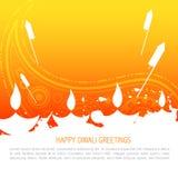 Ζωηρόχρωμη ανασκόπηση diwali