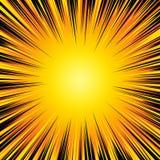 Ζωηρόχρωμη απεικόνιση έκρηξης απεικόνιση αποθεμάτων