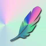 Ζωηρόχρωμη απεικόνιση φτερών Ελεύθερη απεικόνιση δικαιώματος