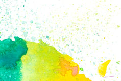 Ζωηρόχρωμη αφηρημένη ανασκόπηση watercolor Στοκ Εικόνα