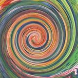 Ζωηρόχρωμη αφηρημένη ζωγραφική στροβίλου σύστασης ελεύθερη απεικόνιση δικαιώματος
