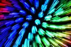 Ζωηρόχρωμη αφηρημένη μίμηση έκρηξης διανυσματική απεικόνιση