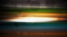Ζωηρόχρωμη αφηρημένη τηλεοπτική ζωτικότητα λωρίδων πυράκτωσης απόθεμα βίντεο