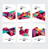 Ζωηρόχρωμη γεωμετρική σύνθεση Απεικόνιση αποθεμάτων