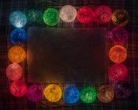 ζωηρόχρωμη γιρλάντα Στοκ φωτογραφίες με δικαίωμα ελεύθερης χρήσης