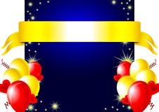 Ζωηρόχρωμη ευτυχής κάρτα Στοκ Εικόνες