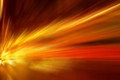 Ζωηρόχρωμη ελαφριά έκρηξη Στοκ Εικόνα