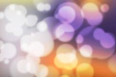 Ζωηρόχρωμη ζωηρόχρωμη θολωμένη ταπετσαρία υποβάθρου Bokeh Στοκ Φωτογραφίες
