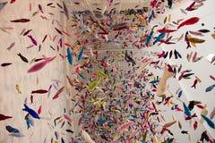Ζωηρόχρωμη διακόσμηση εγγράφου Στοκ εικόνες με δικαίωμα ελεύθερης χρήσης