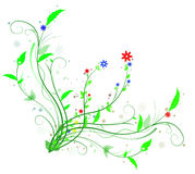 ζωηρόχρωμη διακόσμηση διανυσματική απεικόνιση