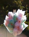 Ζωηρόχρωμη καραμέλα βαμβακιού στοκ εικόνα με δικαίωμα ελεύθερης χρήσης