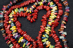 ζωηρόχρωμη καρδιά καραμελών Στοκ Εικόνα