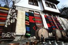 ζωηρόχρωμη κουβέρτα Στοκ Εικόνες